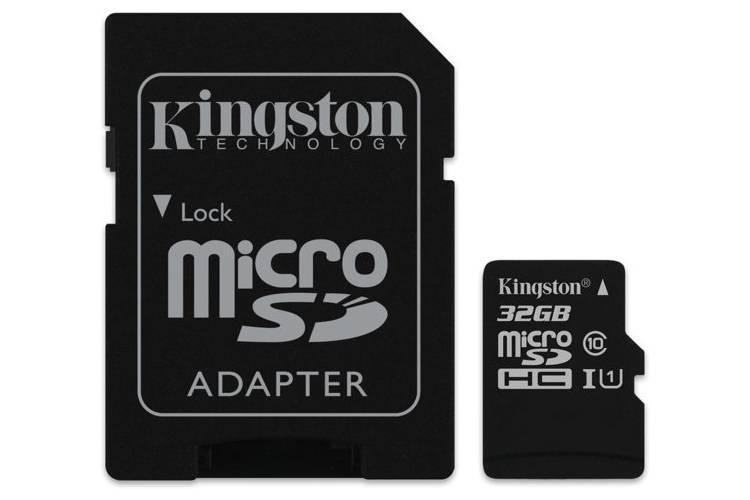 Kingston 32GB microSDHC UHS-I Class 1