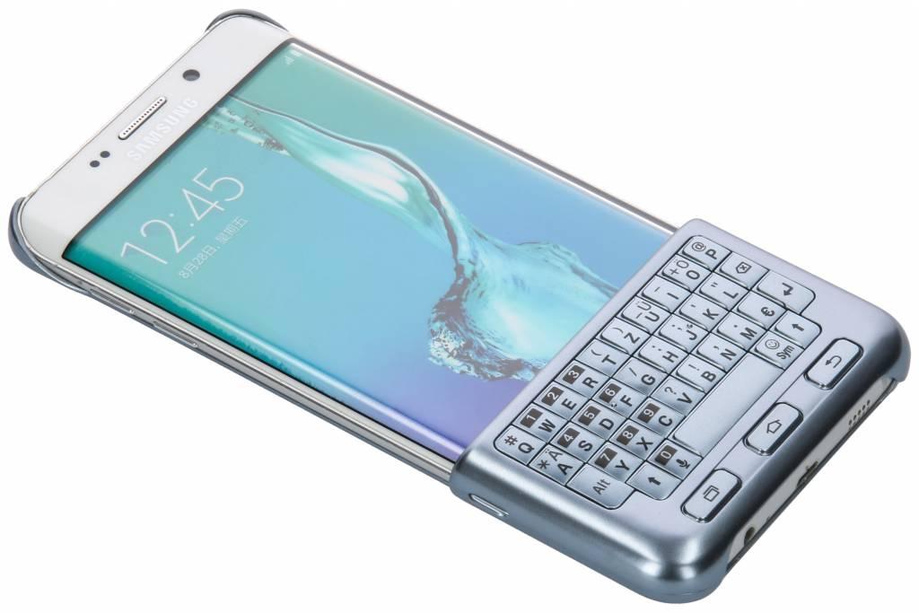 Samsung Blauwe Keyboard Cover voor de Galaxy S6 Edge Plus
