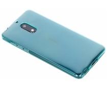 Turquoise gel case Nokia 6