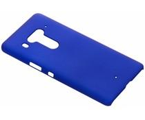 Blauw effen hardcase hoesje HTC U12 Plus