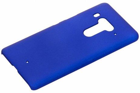 Effen Backcover voor HTC U12 Plus - Blauw