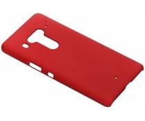 Rood effen hardcase hoesje HTC U12 Plus