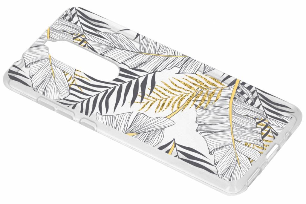 Design Backcover voor Nokia 5.1 - Glamour Botanic