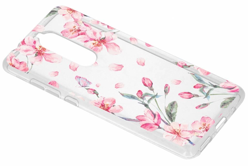 Bloesem Watercolor TPU hoesje voor de Nokia 5.1