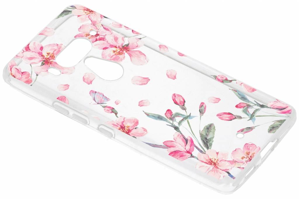 Design Backcover voor HTC U12 Plus - Bloesem Watercolor