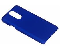 Blauw effen hardcase hoesje LG Q7