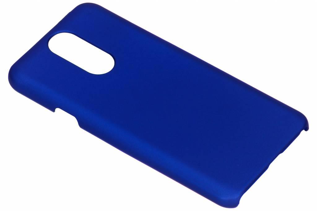 Blauw effen hardcase hoesje voor de LG Q7