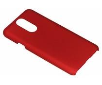 Rood effen hardcase hoesje LG Q7