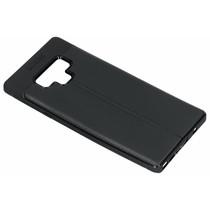 Lederen Backcover met stiksel Samsung Galaxy Note 9