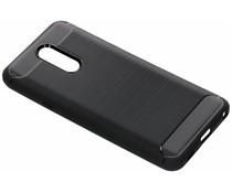 Zwart Brushed TPU case LG Q7