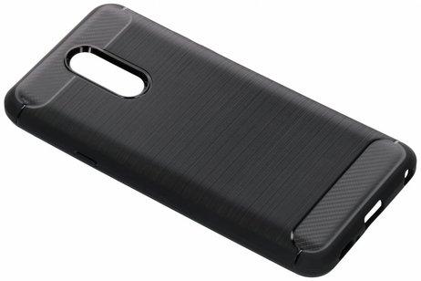 LG Q7 hoesje - Brushed Backcover voor LG