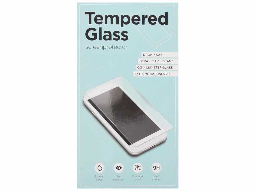 Zwarte gehard glas full glue screenprotector voor de Samsung Galaxy S9 Plus