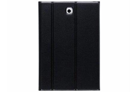 Glanzende Bookcase voor Samsung Galaxy Tab S2 8.0 - Zwart