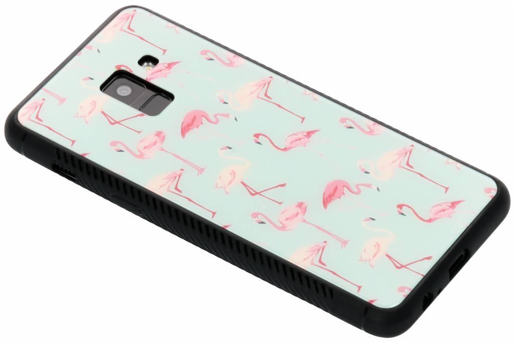 Design Glazen Backcover voor Samsung Galaxy A8 (2018)