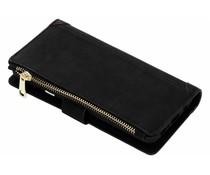 Zwart luxe portemonnee hoes Samsung Galaxy S9 Plus