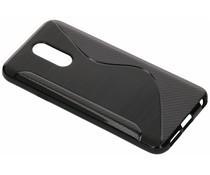 Zwart S-line TPU hoesje LG Q7