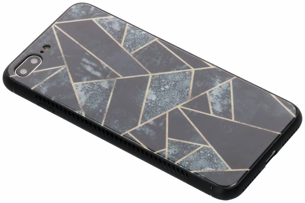 Design Glazen Backcover voor iPhone 8 Plus / 7 Plus