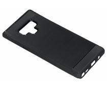 Zwart brushed TPU case Samsung Galaxy Note 9