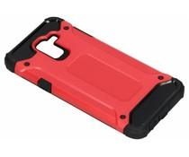 Rood Rugged Xtreme Case Samsung Galaxy J6
