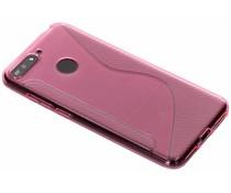 Roze S-line TPU hoesje Honor 7A