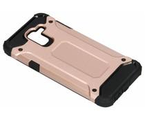 Rosé Goud Rugged Xtreme Case Samsung Galaxy J6