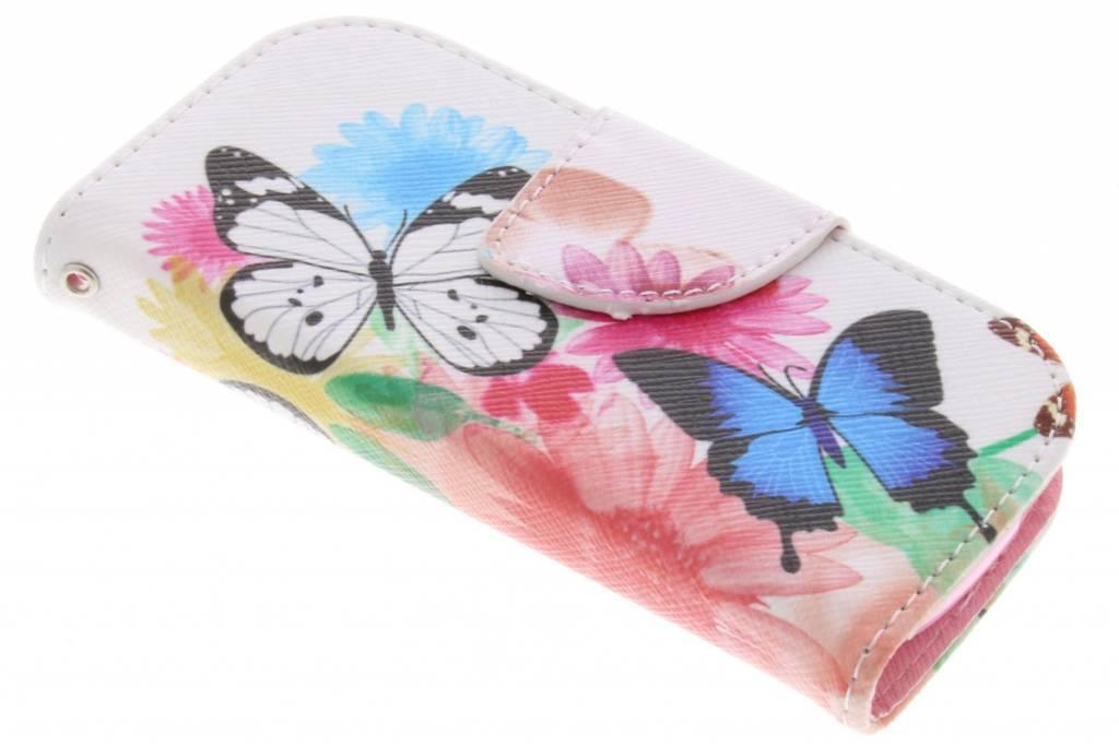Butterfly design TPU booktype hoes voor de Nokia 3310 (2017)