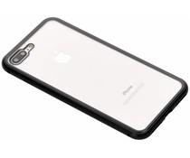 Selencia Zwart magnetisch hoesje iPhone 8 Plus / 7 Plus