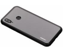 Selencia Zwart magnetisch hoesje Huawei P20 Lite