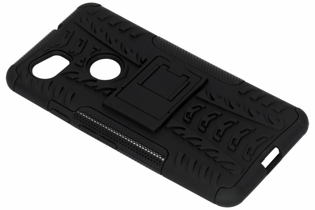 Zwarte Rugged Hybrid Case voor de Google Pixel 2 XL