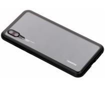 Zwart magnetisch hoesje Huawei P20