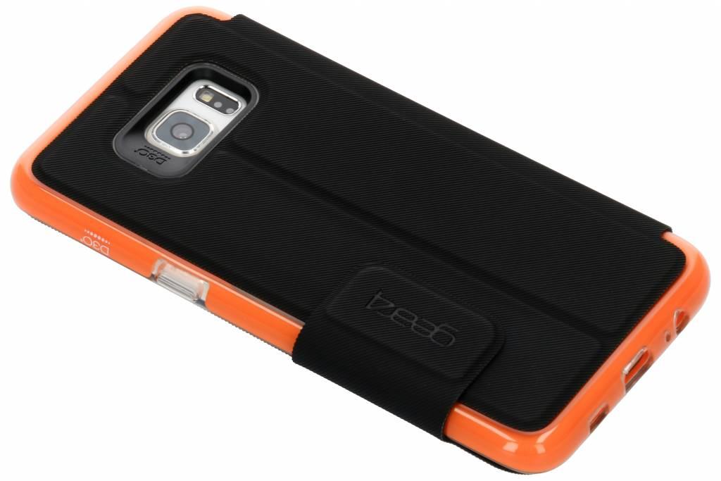 Gear4 D3O® Booktype voor Samsung Galaxy S6 Edge Plus - Zwart
