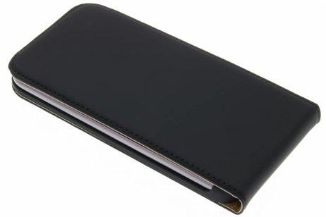 Selencia Luxe Hardcase Flipcase voor Motorola Moto G4 (Plus) - Zwart