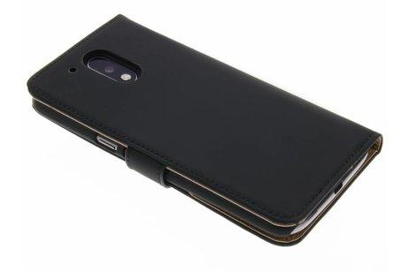 Selencia Luxe Hardcase Booktype voor Motorola Moto G4 (Plus) - Zwart