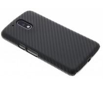 Carbon look hardcase hoesje Moto G4 (Plus)