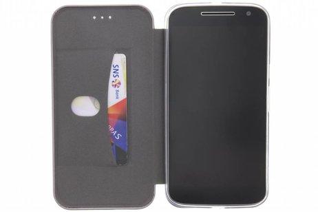 Slim Folio Booktype voor Motorola Moto G4 (Plus) - Zwart