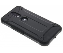 Zwart rugged Xtreme Case Motorola Moto G4 (Plus)