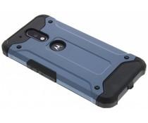 Donkerblauw rugged Xtreme Case Motorola Moto G4 (Plus)