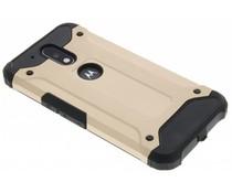 Goud rugged Xtreme Case Motorola Moto G4 (Plus)