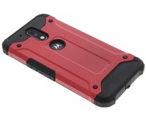 Rood rugged Xtreme Case Motorola Moto G4 (Plus)