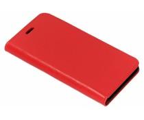 Rood glanzende lederen booklet Huawei Nova 2