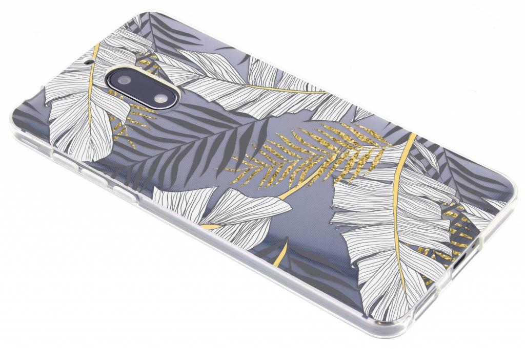 Botanic design siliconen hoesje voor de Nokia 6