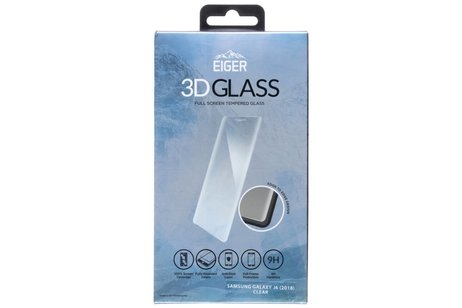 Eiger Tempered Glass Screenprotector voor Samsung Galaxy J6
