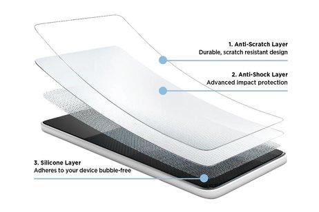 Eiger Tri Flex Screenprotector voor iPhone 8 / 7 / 6s / 6