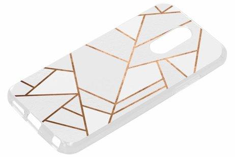 LG Q7 hoesje - Design Backcover voor LG
