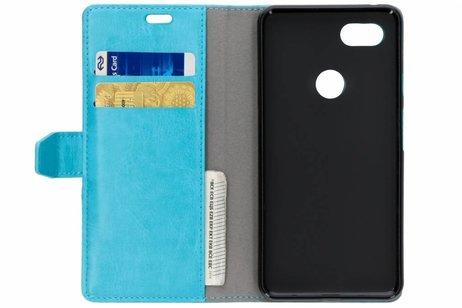 Zakelijke Booktype voor Google Pixel 3 XL - Turquoise