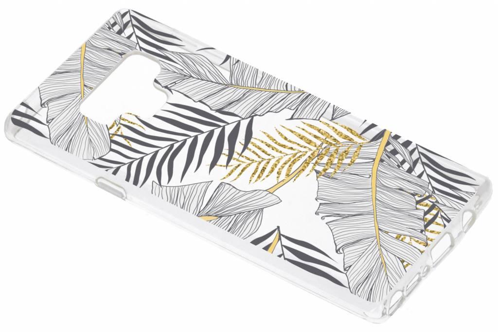 Botanic design siliconen hoesje voor de Samsung Galaxy Note 9