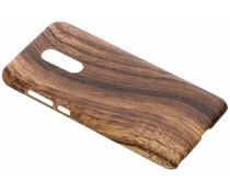 Hout design hardcase hoesje Xiaomi Redmi 5 Plus