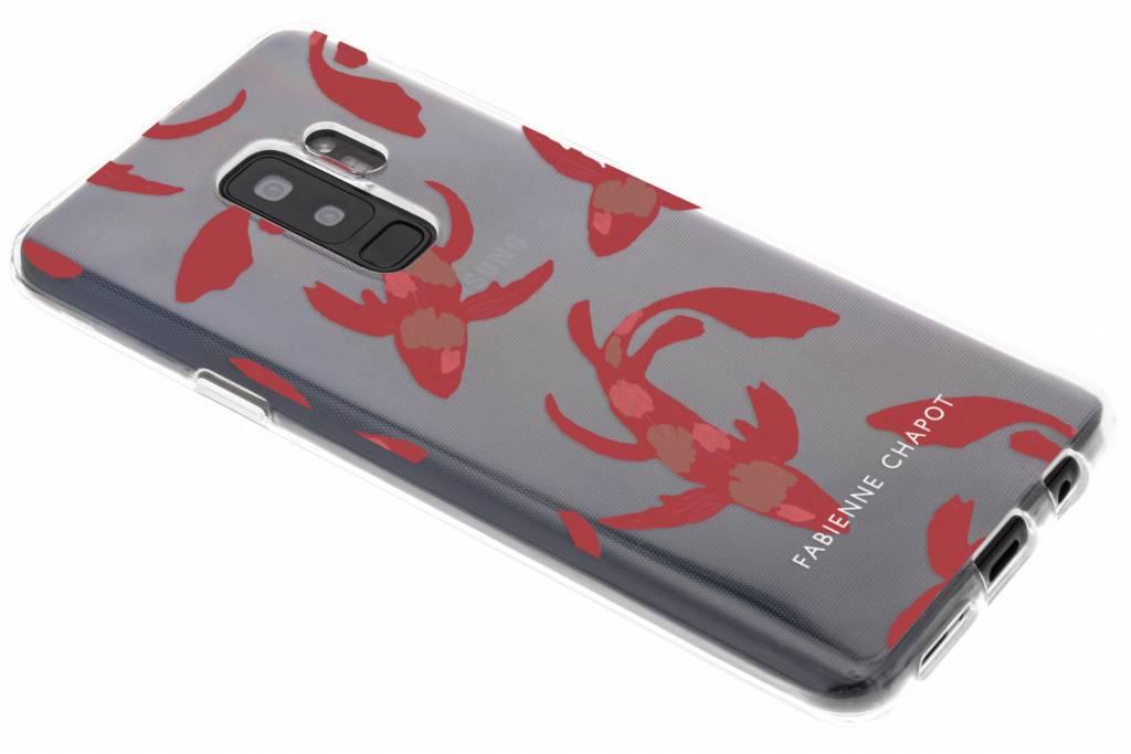 Water Art Softcase voor de Samsung Galaxy S9 Plus