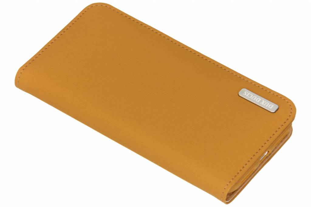 Dux Ducis Genuine Leather Booktype voor iPhone X / Xs - Bruin