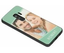Ontwerp uw eigen Samsung Galaxy S9 Plus glass case